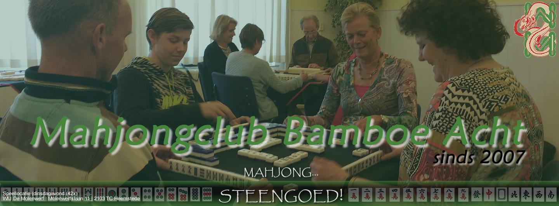 Welkom bij Mahjongclub Bamboe Acht Heemstede
